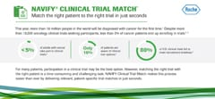 Partial image of the NAVIFY Clinical Trial Match information sheet
