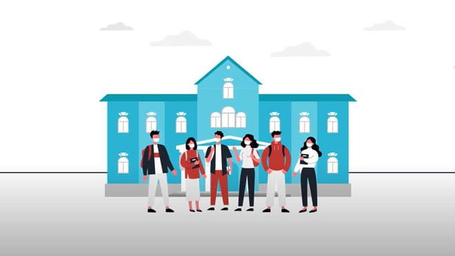 Large thumbnail illustration from NAVIFY® Remote Monitor video for universities